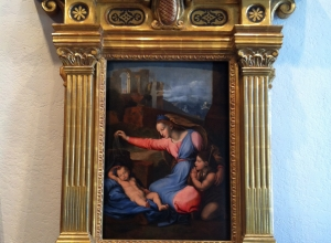 Custom-Made Frame For a Raphael Panel Painting