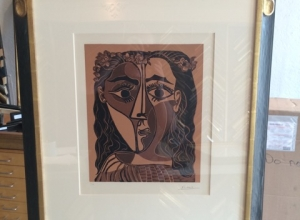 Picasso in Custom Frame
